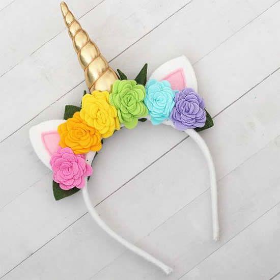 ideias tiaras unicornio 1