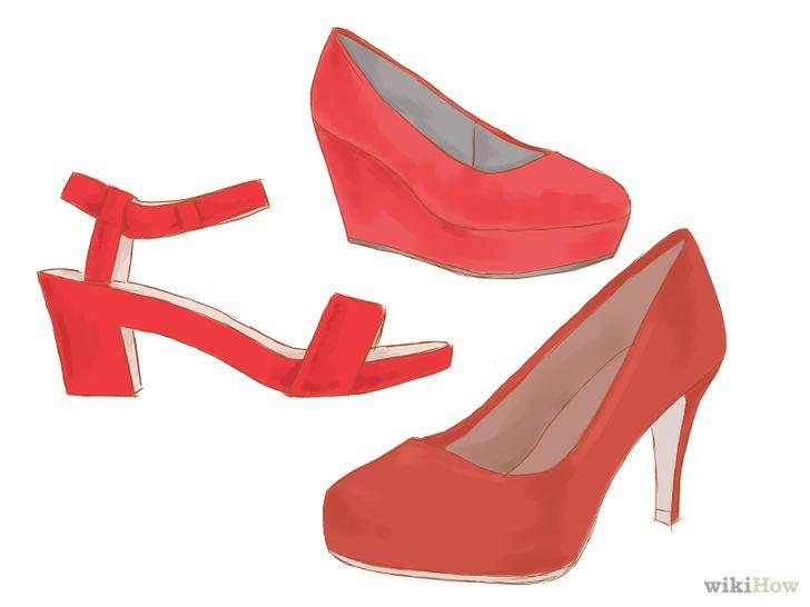 imagem de sapato vermelho