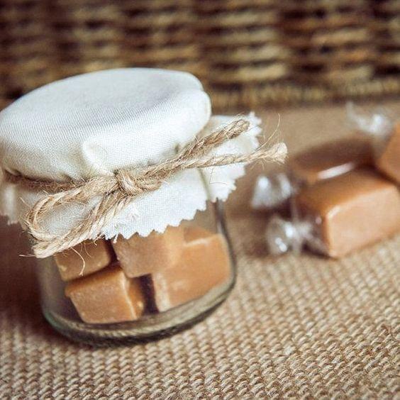 lembrancinha casamento doce simples