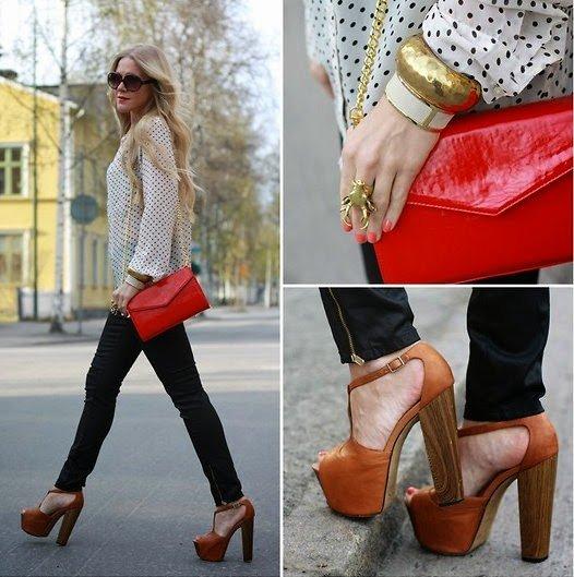 lokks modelos sapato meia pata 4