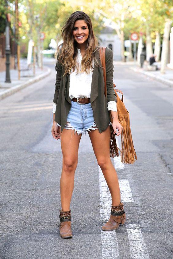 look bota cano curto jeans