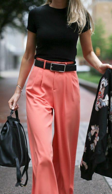 look calcas largas coloridas