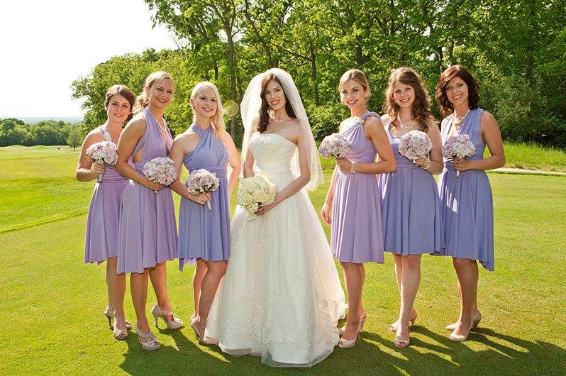 madrinhas noiva lilas