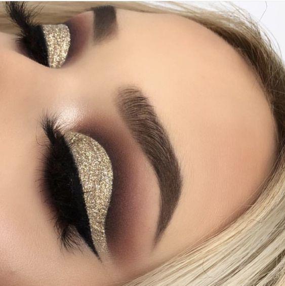 maquiagem dourada 2