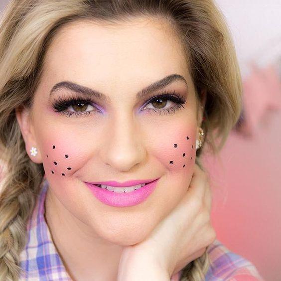 maquiagem festa junina adulto simples