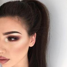 maquiagem marron