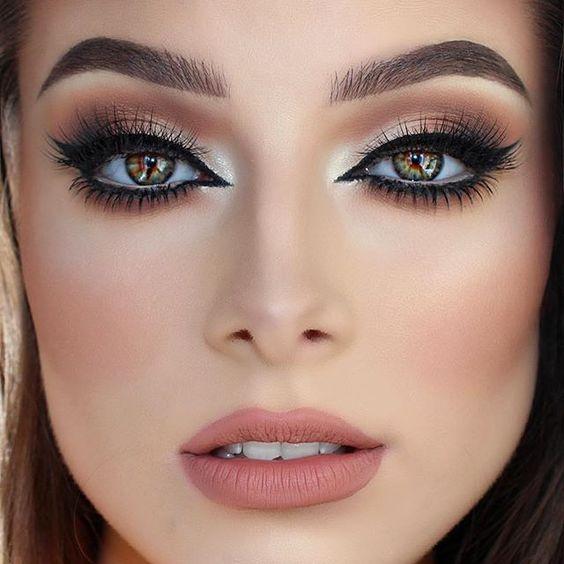 maquiagem natural noiva olhos