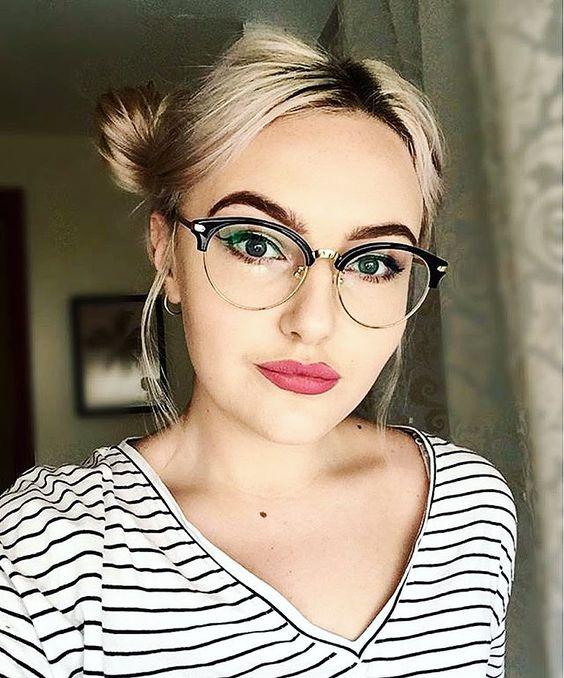 maquiagem para quem usa oculos 3