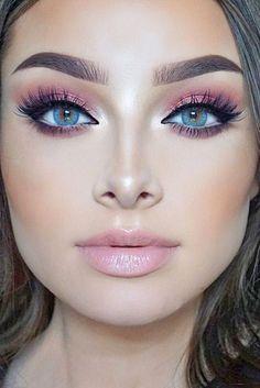 maquiagem perfeita rosa