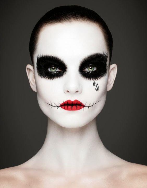 maquiagens halloween 4