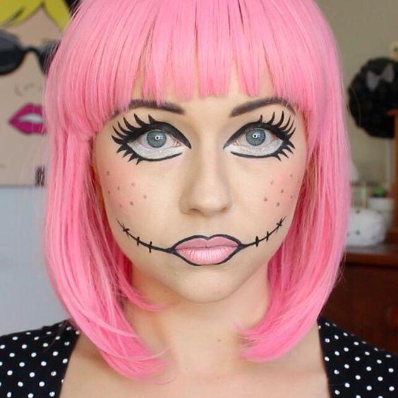 maquiagens halloween 8