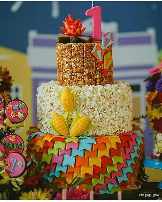 mesa doces festa junina infantil ideias