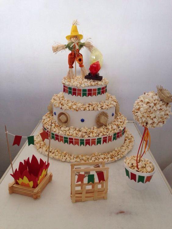 mesa doces festa junina infantil inspiracao