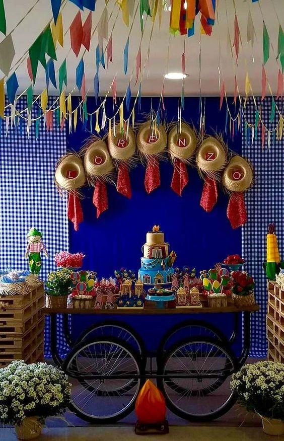 mesa doces festa junina inspiracao