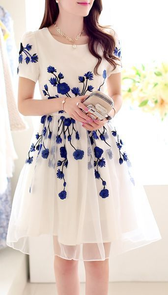 moda vestidos floridos 4