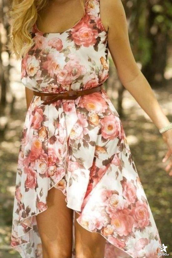 moda vestidos floridos 5