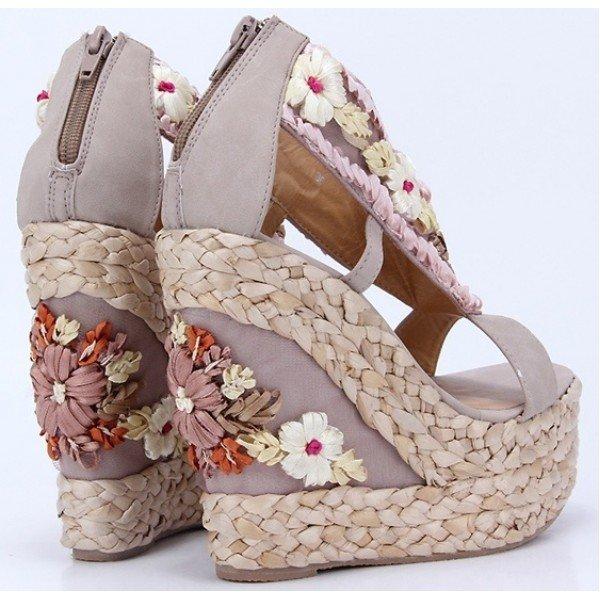 modelo sapato salto floral 2
