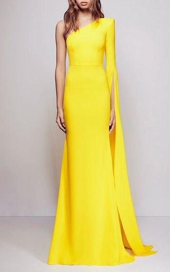 modelo vestido amarelo festa 2