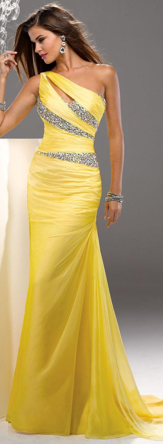 modelo vestido amarelo festa