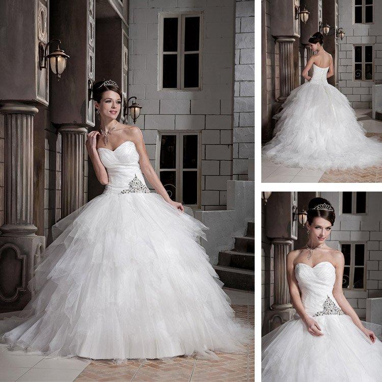 modelo vestido de noiva longo