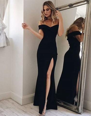 modelo vestido festa simples