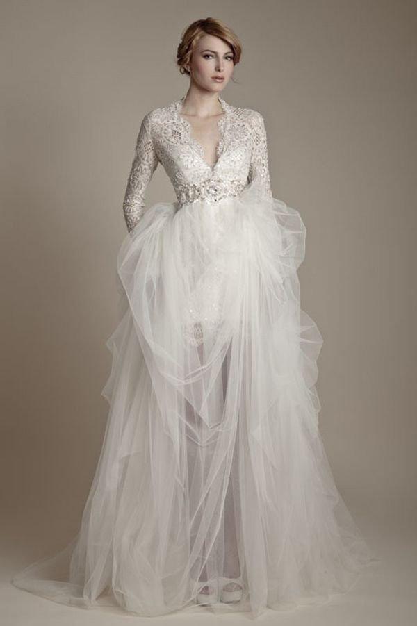 modelo vestido longo de casamento vintage