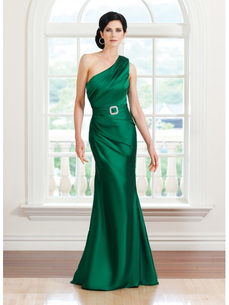 modelo vetido seda verde