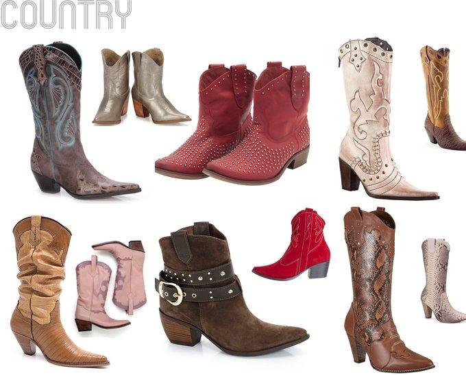 modelos botas country