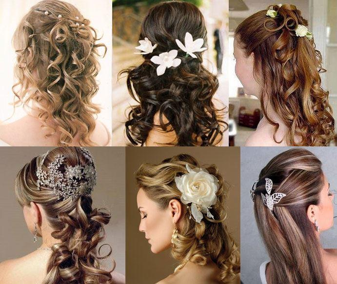 modelos de penteados para casamento