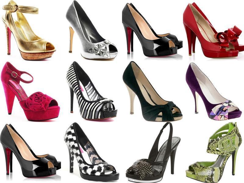 modelos de sapatos femininos