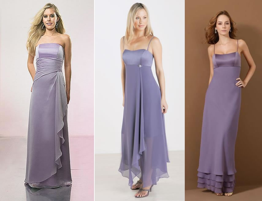 modelos de vestidos lilas para casamento