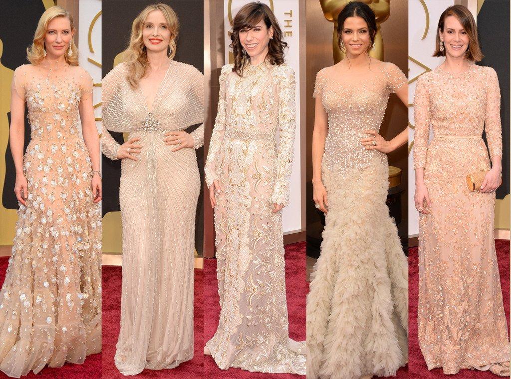 modelos de vestidos nude