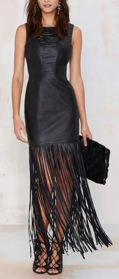 modelos moda dicas vestidos couro