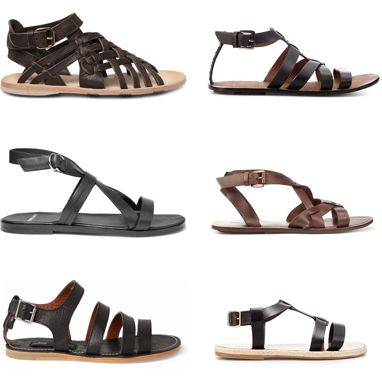 modelos novos sandalias gladiadoras