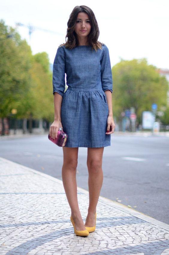 modelos outfits vestidos jeans 3