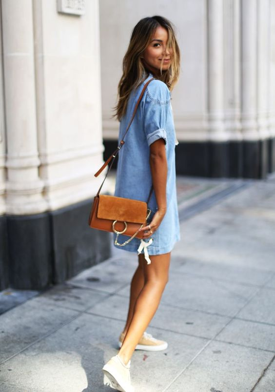 modelos outfits vestidos jeans