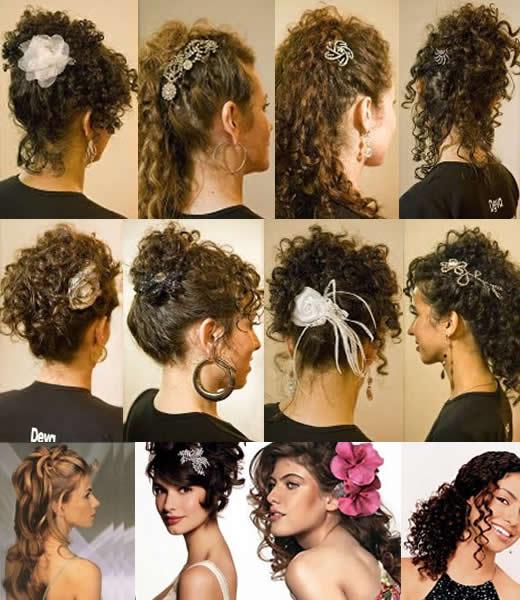 modelos penteados cabelos cacheados