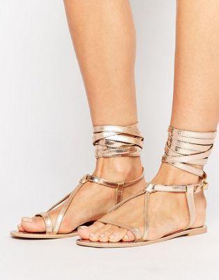 modelos sandalias metalizadas 3