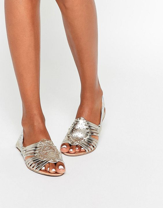 modelos sandalias metalizadas 5