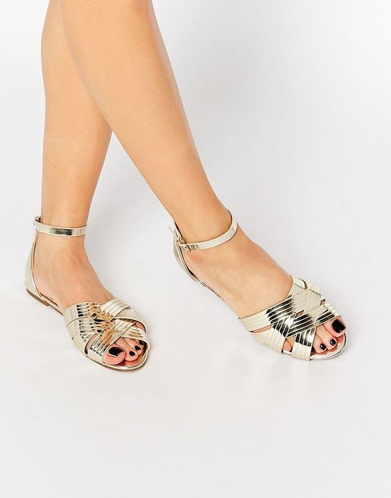 modelos sandalias metalizadas 6