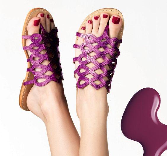 modelos sandalias metalizadas 9