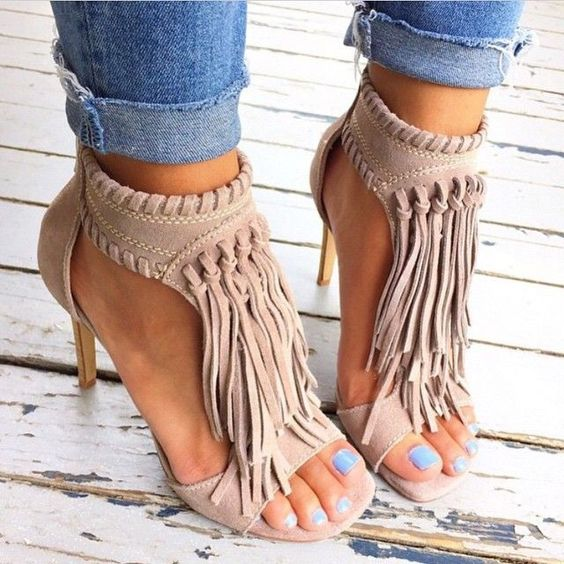 modelos sapato franja 5