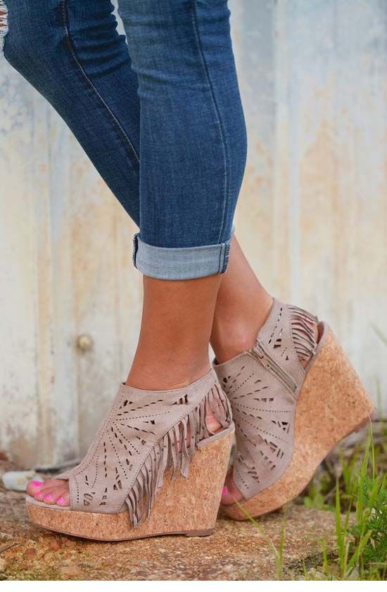 modelos sapato franja 6