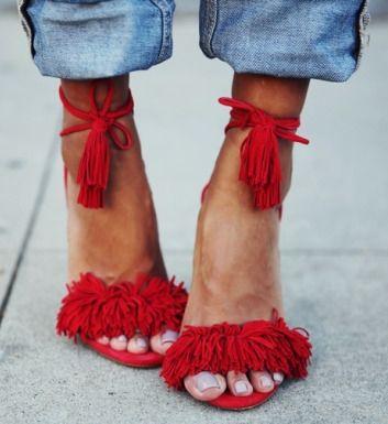 modelos sapato franja 7