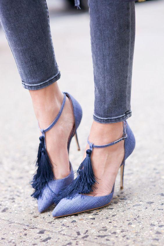 modelos sapato franja 8