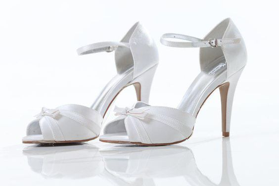modelos sapatos noiva branco