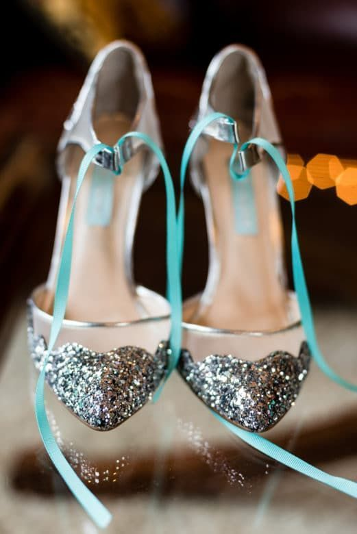 modelos sapatos noiva colorido