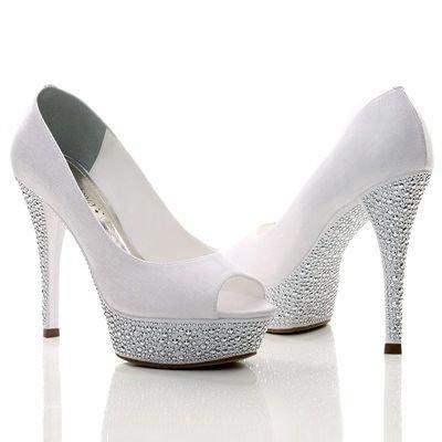 modelos sapatos noiva glitter