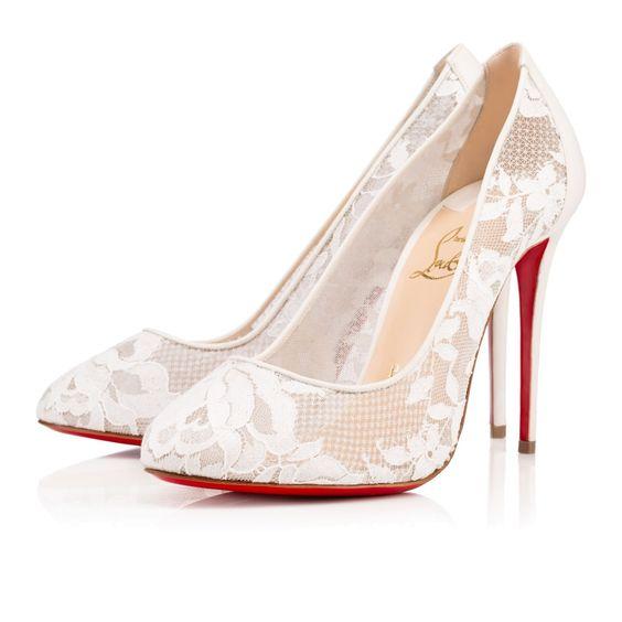 modelos sapatos noiva renda