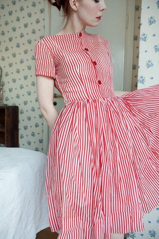 modelos vestido retro 12